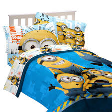 Minecraft Twin Comforter Despicable Me Minions Twin Comforter And Sheet Set