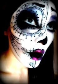 Halloween Skull Face Makeup by 155 Best Sugar Skull Makeup Images On Pinterest Halloween Makeup