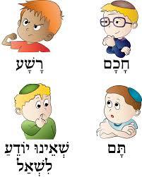 the four sons haggadot com