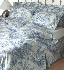 Pottery Barn Toile Bedding Blue And White Toile Bedding U2013 Home Blog Gallery