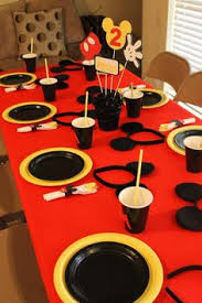 mickey mouse party mickey mouse birthday party ideas birthday party tables mickey