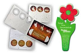 seed cards envelopes and sleeves for direct mail and gift cardsl