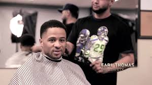 seattle barbers that do seahawk haircuts nfl network seattle seahawks barber feature youtube