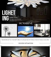 remote control modern ceiling lights for living room bedroom