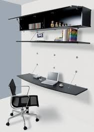 Wall Mounted Desk System Light U0026 Elegant Minimalist Wall Hanging Modular Furniture