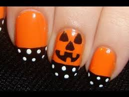 easy and simple halloween nails youtube