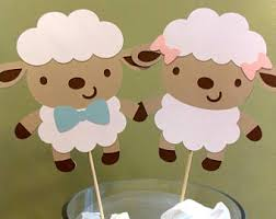 sheep baby shower etsy
