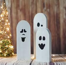 reclaimed wood primitive halloween ghosts u2013 gft woodcraft