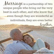 best marriage quotes marriage is a partnership happy club