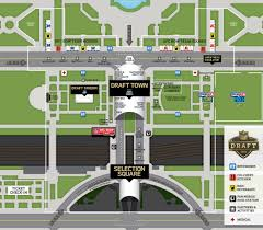 Lollapalooza Map From Chi Town To Draft Town Your Guide To The Nfl Draft