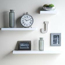 Wall Shelf Ideas Furniture U0026 Accessories Floating Shelves Ideas With Hudson Easy