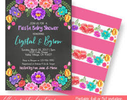 baby shower mexican baby invite mexican