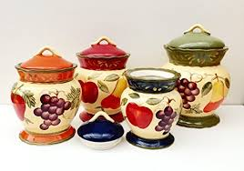 colorful kitchen canisters colorful kitchen canisters amazon com