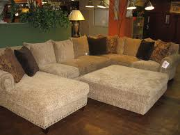 Sectional With Ottoman Overstuffed Sectional Sofa Aspen Sectional Leather Sofa With Ottoman