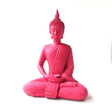 popular items for bohemian home decor on etsy pink buddha