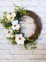 best 25 magnolia wreath ideas on magnolia leaves