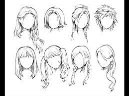 Frisuren Zeichnen Anleitung by 108 Besten Hairstyles Bilder Auf Drawing