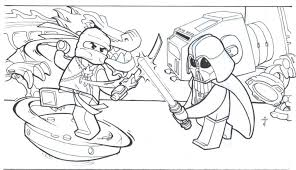 star wars lego ninjago coloring pages pictures pin