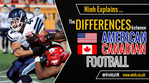 Flag Football Rules For Dummies The Differences Between American Football And Canadian Football
