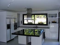 cuisine am駻icain modele de cuisine ouverte avec ilot en image americaine newsindo co