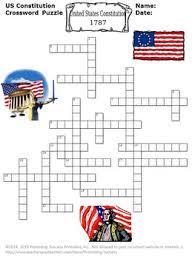 us constitution day activities social studies crossword puzzle tpt