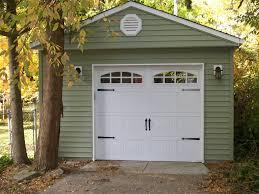 1 Car Garage Modern Garage Builders