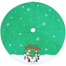 Snoopy Christmas Decorations Walmart by Christmas Tree Skirts Walmart Christmas Lights Decoration