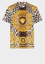 versace wild baroque tribute t shirt for women us online store