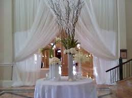 wedding backdrop drapes wedding backdrop drapes white or ivory 15 x114 room divider