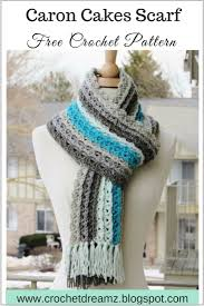 crochet dreamz ocean waves scarf free crochet scarf pattern