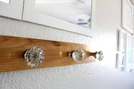 foyer glass door knob coat rack hometalk