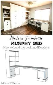 desk build to suit study desk downloadable woodworking plan pdf