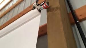 Seamless Background Paper Make A Seamless Backdrop Holder Out Of Hooks U0026 Conduit Youtube