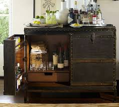 pottery barn bar table furniture fashiontravel inspired ludlow trunk bar by pottery barn