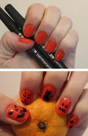 glitter halloween nail art images