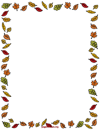 free coloring pages of autumn border ősz fall