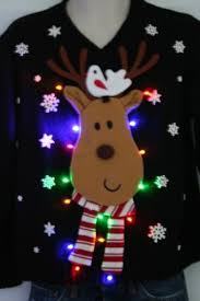 contemporary ideas ugly christmas sweater with lights light up