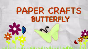 easy origami butterfly for kids paper folding crafts for kids fun