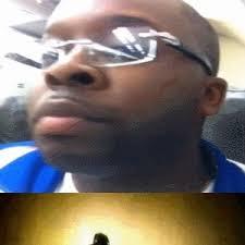 Black Guy With Glasses Meme - meme center sarahand profile