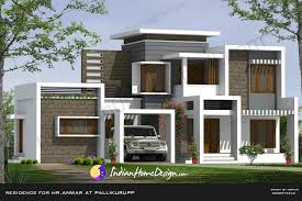 Indian House Floor Plans Free Beautiful Contemporary Indian Home Design In 2850 Sqft