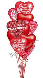 valentines day balloon delivery bright fancy hearts happy valentines day balloon bouquet happy