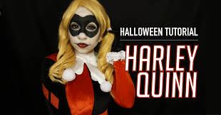 harley quinn halloween tutorial makeup u0026 costume youtube