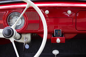 volkswagen old beetle modified vw beetle sound system 6v ipod iphone in ashtray classiccult