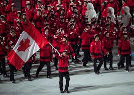 Giant Canadian Flag Prime Minister Trudeau To Unveil Olympic Flag Bearer On Tuesday