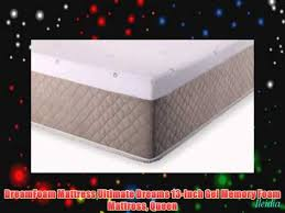 Dreamfoam Bedding Ultimate Dreams Dreamfoam Mattress Ultimate Dreams 13 Inch Gel Memory Foam