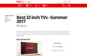 best black friday 32inch tv deals best 32 inch tvs summer 2017 reviews