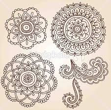 flower drawings 42 amazing designs images with color henna