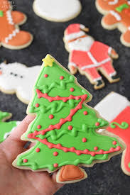 christmas tree cutout sugar cookies pictures photos and images