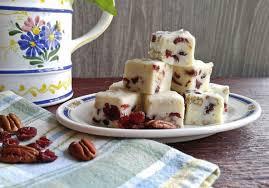 pecan fudge recipe easy cranberry pecan fudge for thanksgiving