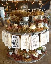 Where To Buy Fall Decorations - the faded farmhouse store 2016 fall display to order items http